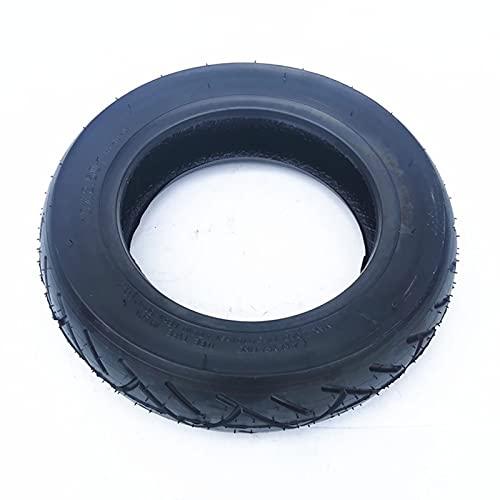 DPGPLP Neumáticos para patinetes eléctricos, sin cámara 10x2,50 Neumáticos para vacío Se Adapta a patinetes eléctricos equilibrados de 10 Pulgadas Antideslizantes y Resistentes a los Golpes Cómodos