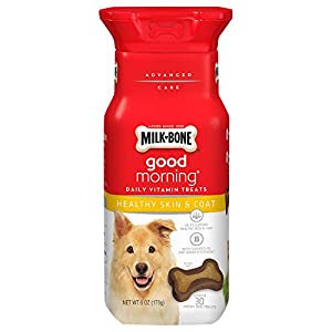 Milk-Bone Daily Vitamin Chewy Dog Treats for Dogs of All Sizes – 6 Oz (Pack of 4)