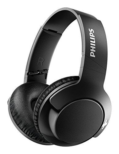 Philips SHB3175BK BASS+ Over-Ear Bluetooth-Kopfhörer (13 Stunden Akku, satter Bass, Freisprechfunktion) schwarz