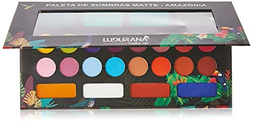 Paleta De Sombra Amazônia Ludurana 24 Cores Matte