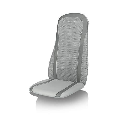 Medisana MC 818 Massageauflage mit Wärmefunktion, Massagesitzauflage mit Klopfmassage, Spotmassage, 2 Intensitätsstufen, Timer-Funktion, Rotlichfunktion, für den gesamten Rücken
