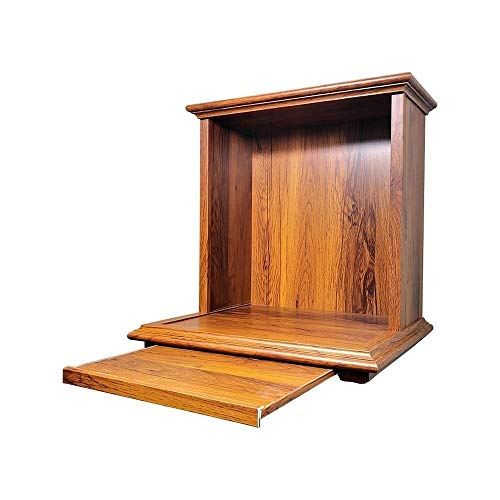 LLCC Sacred 15.4' Wooden Buddha Altar Cabinet, Table for Buddha Statue Stand, Buddha Altar Shelf Stand Consecration Platform, Suitable for Place Your Spiritual Decoration