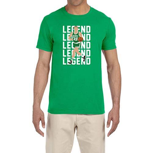 Peg Leg Shirts GREEN Boston Larry Legend T-Shirt ADULT LARGE