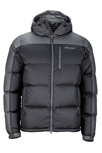 Marmot Guides Down Hoody Men s Winter Puffer Jacket, Fill Power 700, Slate Grey Cinder, Large