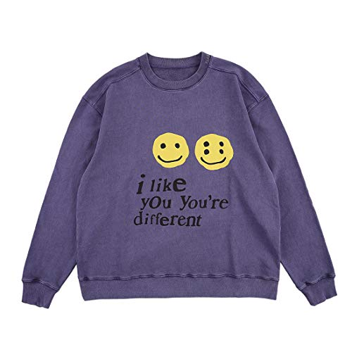 NAGRI I Like You're Different Pullover Sweatshirt