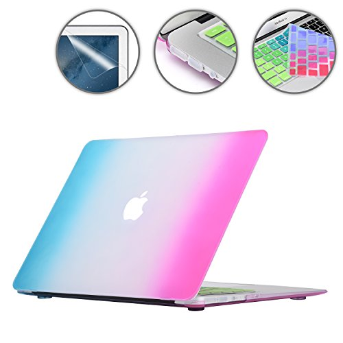 "Apple Macbook Air Pro 11 12 13 15/"" Laptop Case Custodia Rigida Tastiera Cover GT"