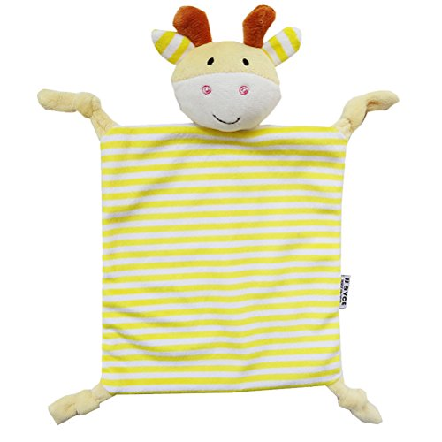 YeahiBaby Doudou per neonato Copertina sicurezza Neonati di Peluche Baby Comforter (Cervo Giallo)