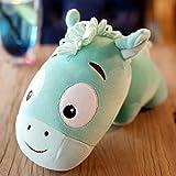 mangege Süßes Pony Plüschtier Pferd Puppe großes Schlafkissen kleine Eselpuppe Puppe...