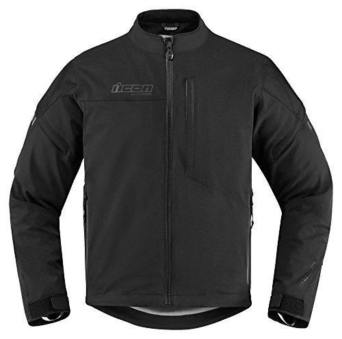 Icon asfalto negro chaqueta de Moto