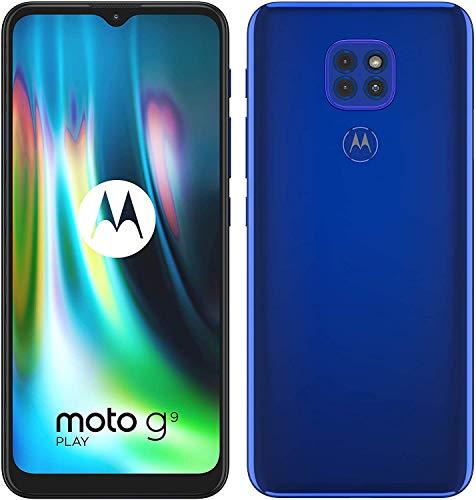Motorola Moto G9 Play - Smartphone 64GB, 4GB RAM, Dual Sim, Sapphire Blue