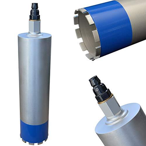 MDW Diamant Bohrkrone Ø 52-200 mm inklusive BI-Adapter passend zu Hilti DD-BI-Aufnahme