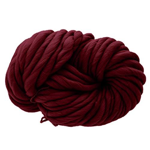 Chunky Yarn Serria® Klobige weiche ohne Stimulation hautfreundlich Wolle Garn Schal Stricken Dicke warme Mütze Haushaltswaren