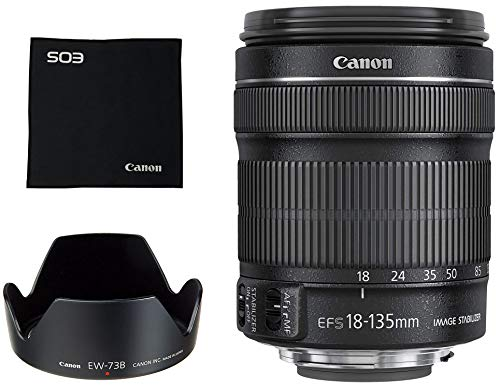 Canon 18-135 mm/F 3.5-5.6 EF-S is 18 mm Objektiv (Canon EF/EF-S-Anschluss,True)