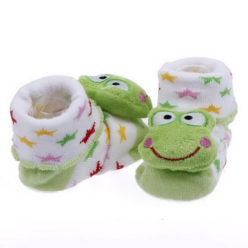 Bigood Baby Mädchen (0-24 Monate) Socken Mehrfarbig Grün Einheitsgröße