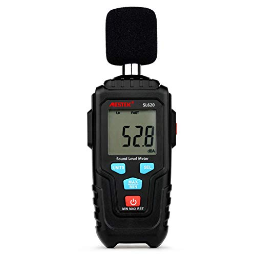 Dhmm123 Digital Decibel Meter Audio Level Meter Logger 30-135dB Geräuschmessung Schallpegelmesser Detektor-Diagnosewerkzeug SL620 Spezifisch