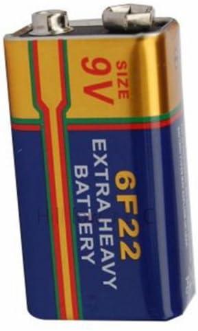Hillflower 200 Piece Same day shipping 6F22 supreme 6LR61 Bulk Long Duration 9V Zin Carbon
