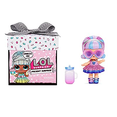 L.O.L. Surprise! Present Surprise Doll with 8 Surprises by MGA Entertainment