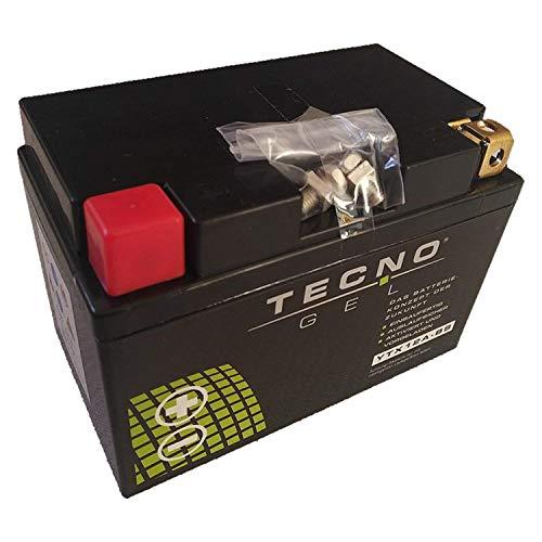 YT12A-BS GEL-Batterie für ER-6N 650 F ABS Baujahr 2012-2017 von TECNO