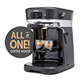 Breville All-in-One Coffee House, Espresso, Filter and Pods Coffee Machine with Milk Frother