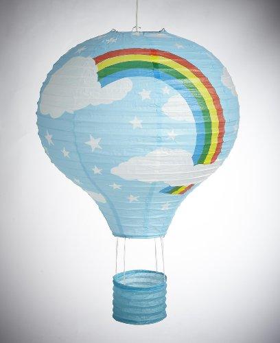 Headfrog Lighting - Lanterna di carta, colore: Blu