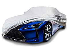 CarsCover Custom Fit 2017-2020 Lexus LC 500 LC 500h Coupe & Convertible Car Cover Heavy Duty Weatherproof Ultrashield Covers LC500 LC500h 5 Layer Waterproof & Weatherproof, heavy duty fabric with soft fleece line Custom fit shape with 2 Mirror Pocket...