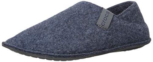 Crocs Unisex Classic Convertible Slipper Hohe Hausschuhe, Blau (Navy/Charcoal 459), 48/49 EU