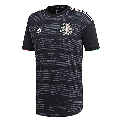 adidas Mexico Home Authentic Jersey Men's, Black, Size M