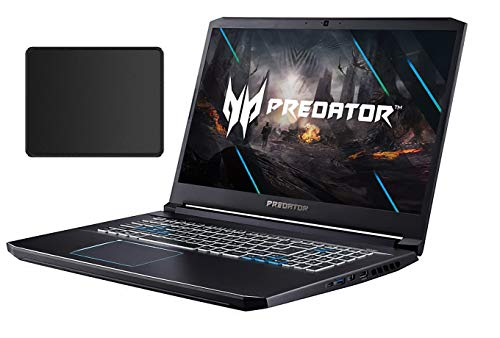 Acer Predator Helios 17.3' Full HD Gaming Laptop | Intel Six-Core i7-10750H | 32GB RAM | 1TB SSD +1TBHDD | NVIDIA GeForce RTX 2070Max-Q | Red Backlit Keyboard | Windows 10 | With Woov Mouse Pad Bundle