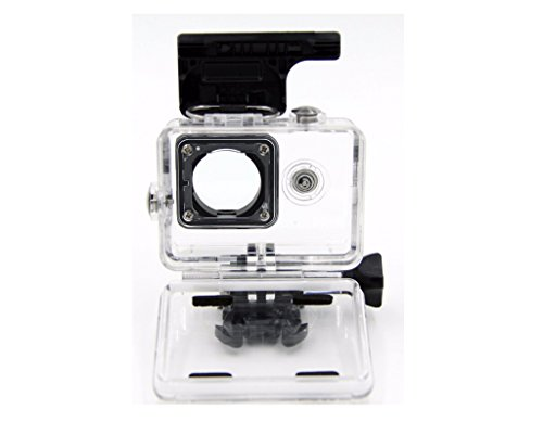 Housing Case Transparent fits GoPro Hero 4 3 Plus Waterproof Case, Enegg Diving Protective Rotective Housing Shell 45m Accessories Compatible Go Pro Hero 4 3+ Action Camera