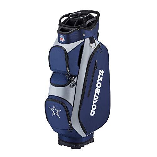 Wilson NFL Golf Bag - Cart, Dallas Blue 2020 Model