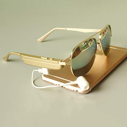 NUIOsdz Gafas Bluetooth Inteligentes Auriculares Inalámbricos Montados En La Cabeza Conducción Multifunción Conducción Escuchando Canción Navegación Ojos Gafas De Sol