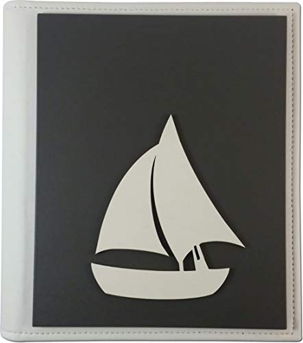 Preisvergleich Produktbild TANGARI Album Linea Profili Barca Tafel,  Weiß,  25 x 30 cm,  Kunstleder