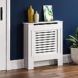 Home Discount Milton para radiador Blanco Moderno Lacado Armario, pequeño