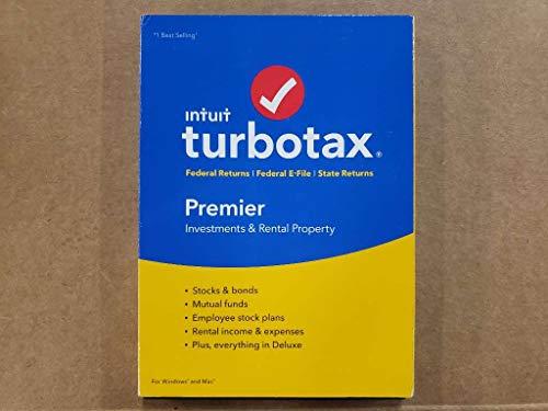 TurboTax Premier Federal + E-File + State 2018