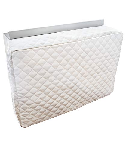 Sturdy Covers Indoor AC Cover Defender - Insulated Indoor Air Conditioner Unit Cover (White, 20 x 28 x 4)