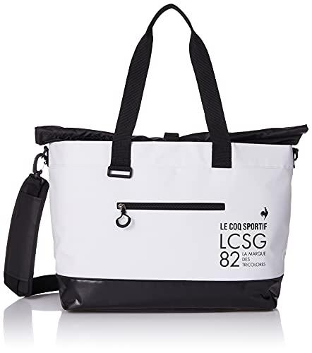 [ルコックスポルティフゴルフ] ゴルフ ボストンバッグ 大開口 シューズポケット ショルダー付き QQBSJA01 メンズ WH00(ホワイト)