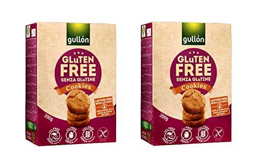 GULLON Galletas sin gluten, 400 g, paquete de 2