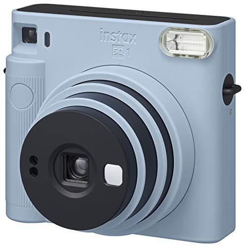 FUJIFILM インスタントカメラ チェキスクエア instax SQUARE SQ1 グレイシャーブルー INS SQ 1 BLUE