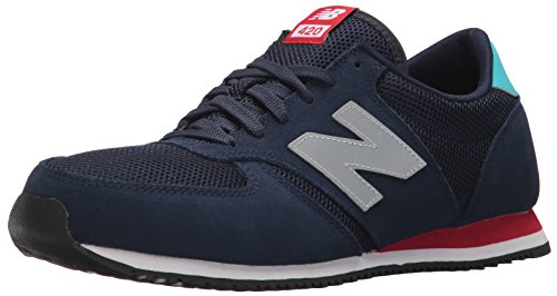 New Balance 420 70s Running, Zapatillas Unisex Adulto, Azul (Navy), 44 EU