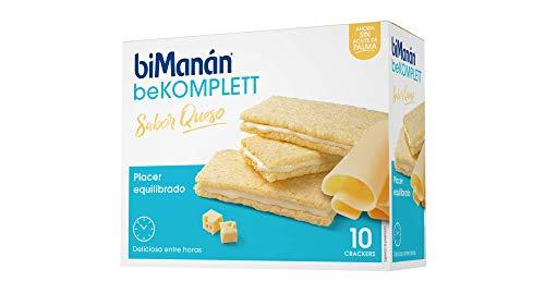 biManán - beKOMPLETT - Placer Equilibrado - Cracker Queso - 10uds 200 gr