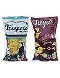 Patatas fritas sabor jamon - Patatas fritas al punto de sal - Patatas Tuyas