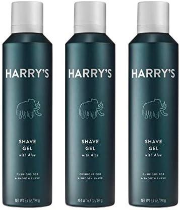 Harry s Shave Gel Shaving Gel with an Aloe Enriched Formula 3 pack 6 7oz product image