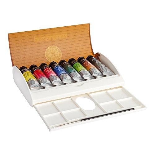 Sennelier Watercolor Travel Box 8 Tube Set by Sennelier