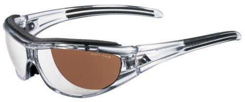 Adidas - Gafas de sol deporte para ciclismo mtb running evil eye pro lst active silver unisex, talla s, color race azul cielo / blanco