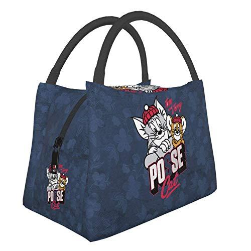 Spike Tom & Jerry - Bolsa portátil para el almuerzo