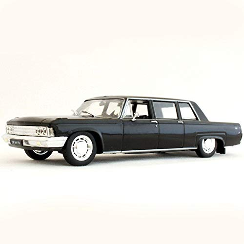 ZIL-114 USSR Soviet Limousine Luxury Class Black 1967–1978 Year 1/43 Scale Diecast Collectible Model Car