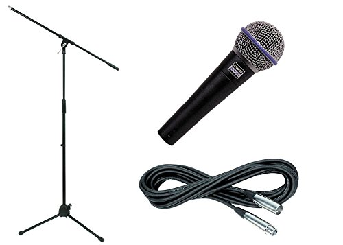 Shure Beta 58A, Stand & Cable Package (Standard)