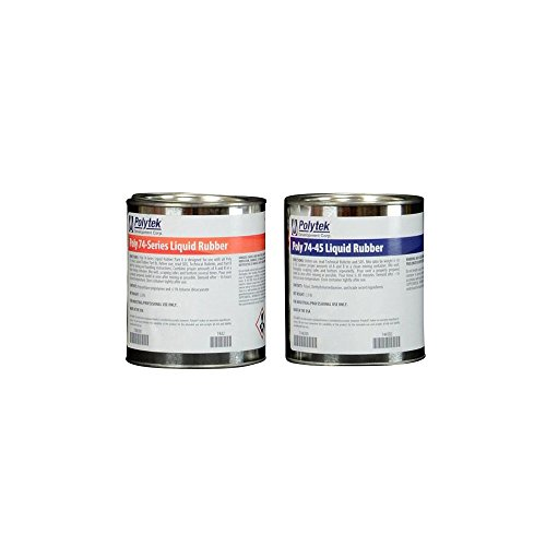 Polytek 74-45 Liquid Polyurethane Rubber (4lb Kit)