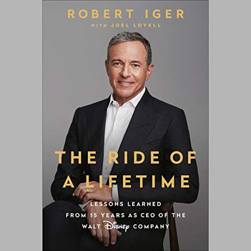 The Ride of a Lifetime audiobook cover art