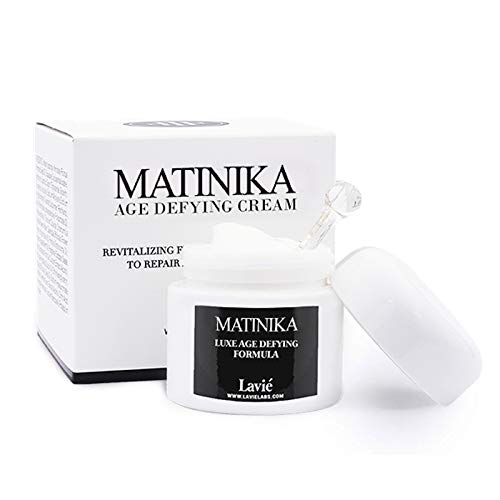 Lavie labs Matinika Age Defying Cream, face and neck anti aging revitalizing moisturizer, enhance Elastin and Collagen production, reduce wrinkles, Firms and lifts skin. fits all skin type-2.03 fl.oz
